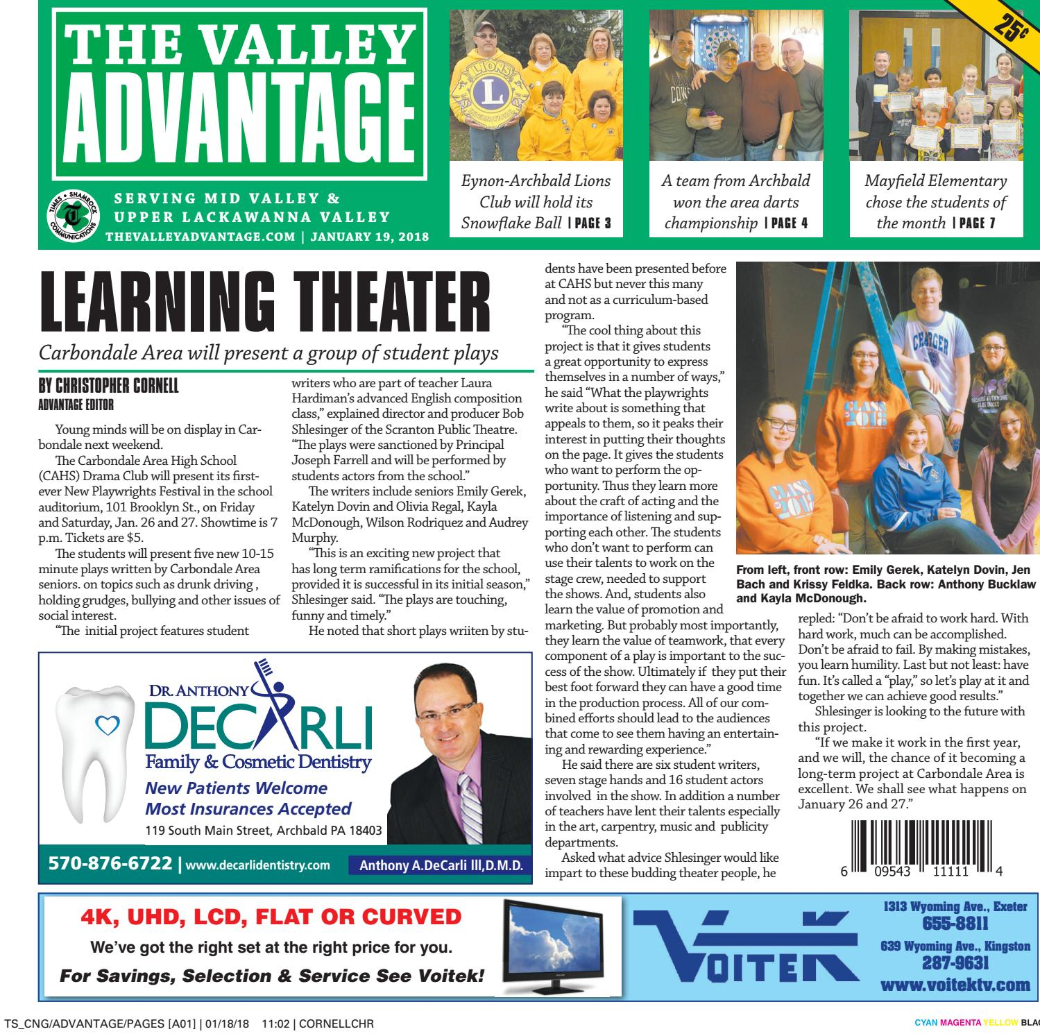 The Valley Advantage--01-19-18 by CNG Newspaper Group - issuu