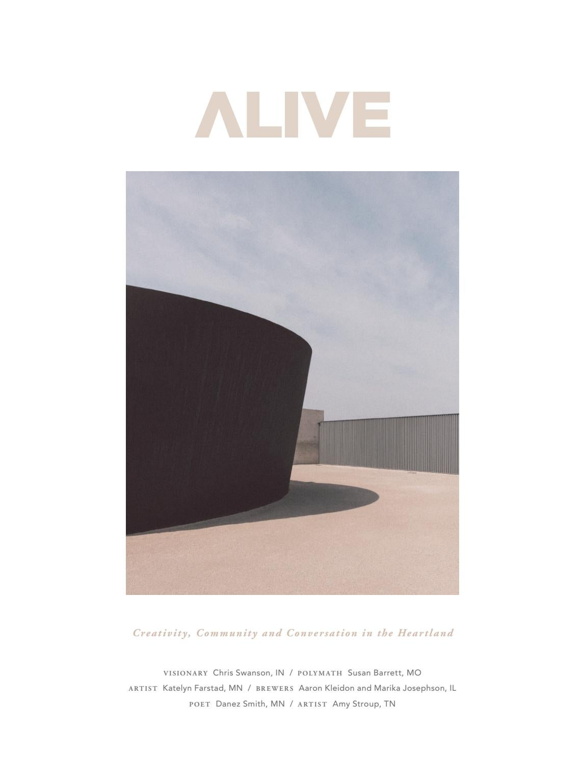 ALIVE Magazine Issue 1 2018 by ALIVE Media Group - issuu