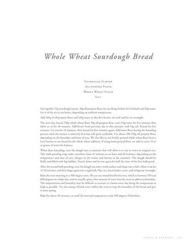 Page 33 of Whole Wheat Sourdough Bread