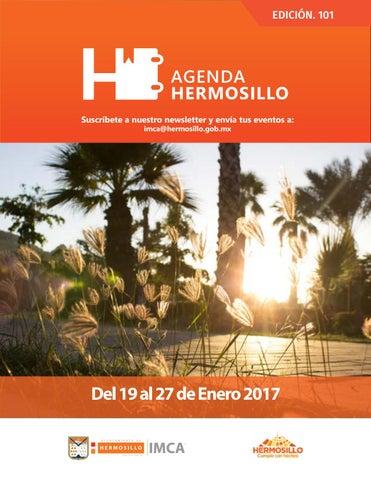 "Cover of ""Agenda hermosillo 19ene2018"""