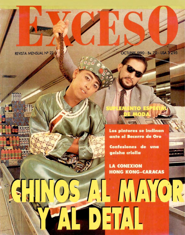6cb63e4c2 Revista Exceso edicion nº 22 octubre 1990 by Revista Exceso - 1988 a 2007 -  issuu