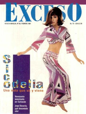 1cdec45e0f6 Revista Exceso edicion nº 26 febrero 1991 by Revista Exceso - 1988 a ...
