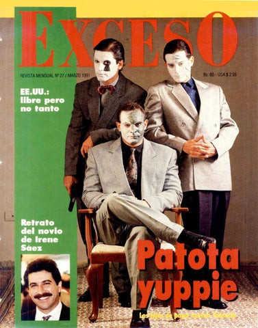 Revista Exceso edicion nº 27 marzo 1991 by Revista Exceso - 1988 a ... 1ce62bcae2f6