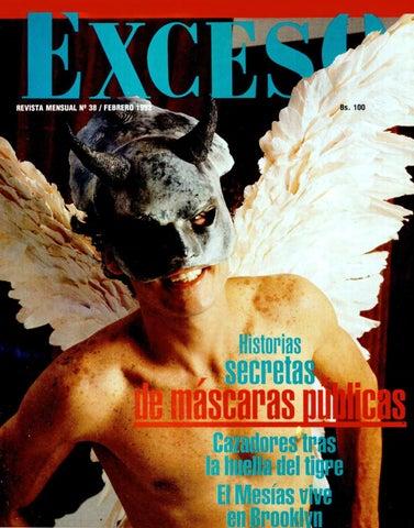 45d118aee Revista Exceso edicion nº 38 febrero 1992 by Revista Exceso - 1988 a ...