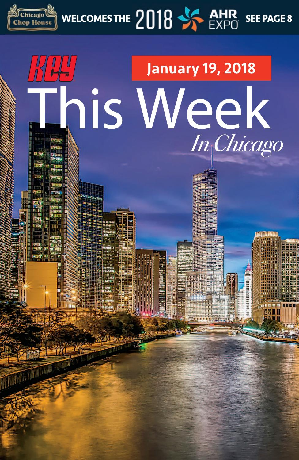 KEY This Week in Chicago, January 19, 2018 Issue by KEY This