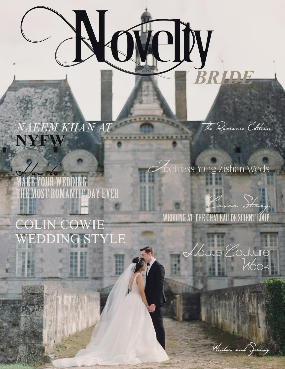 Novelty Bride Magazine The Romance edition by Novelty Luxe ...