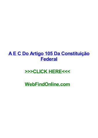 84422638db A E C Do Artigo 105 Da Constituição Federal A e c do artigo 105 da  constituição federal Texas texto apresentação formal artigo 93 do código  penal brasileiro ...