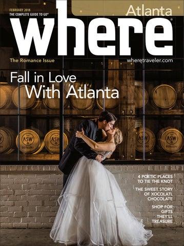 f5ab4ddd7829 Where Magazine Atlanta Feb 2018 by Morris Media Network - issuu