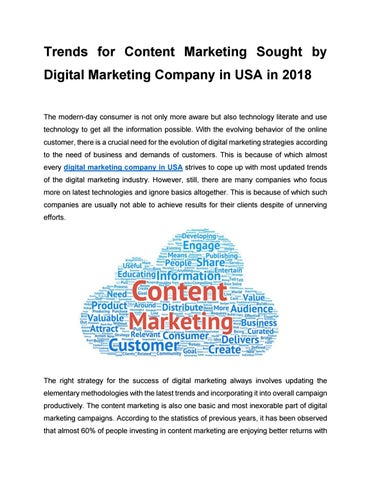 Digital marketing company in usa (1) by fkdesignz - issuu