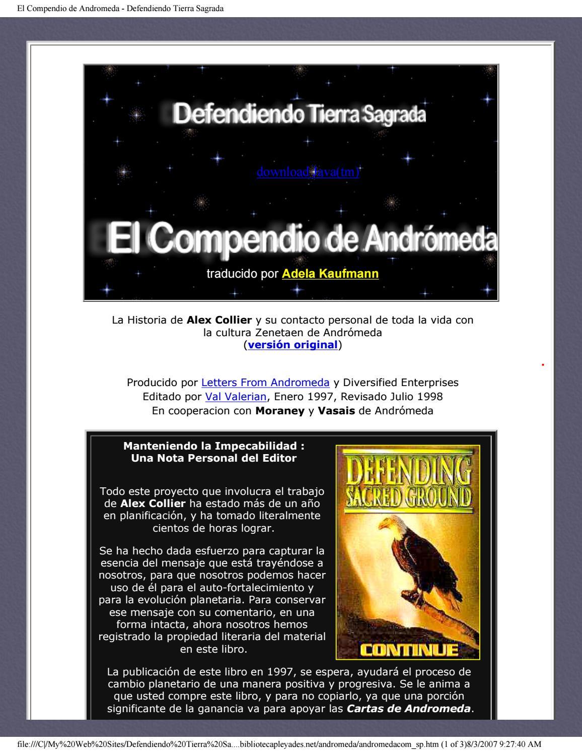 El Compendio De Andromeda By Vancy108 Issuu