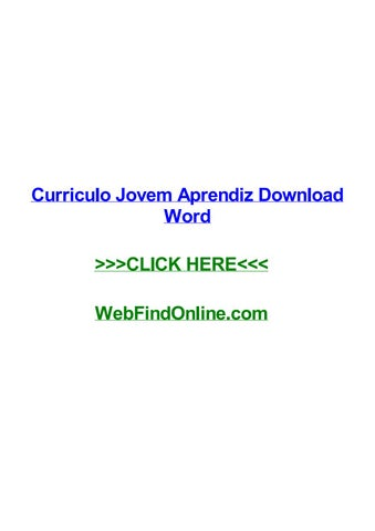 Tag; curriculo jovem aprendiz download word.