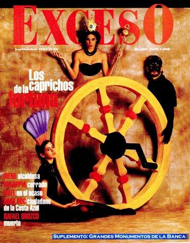 promo code 67445 794e1 Revista Exceso edicion nº 45 septiembre 1992 by Revista Exceso ...