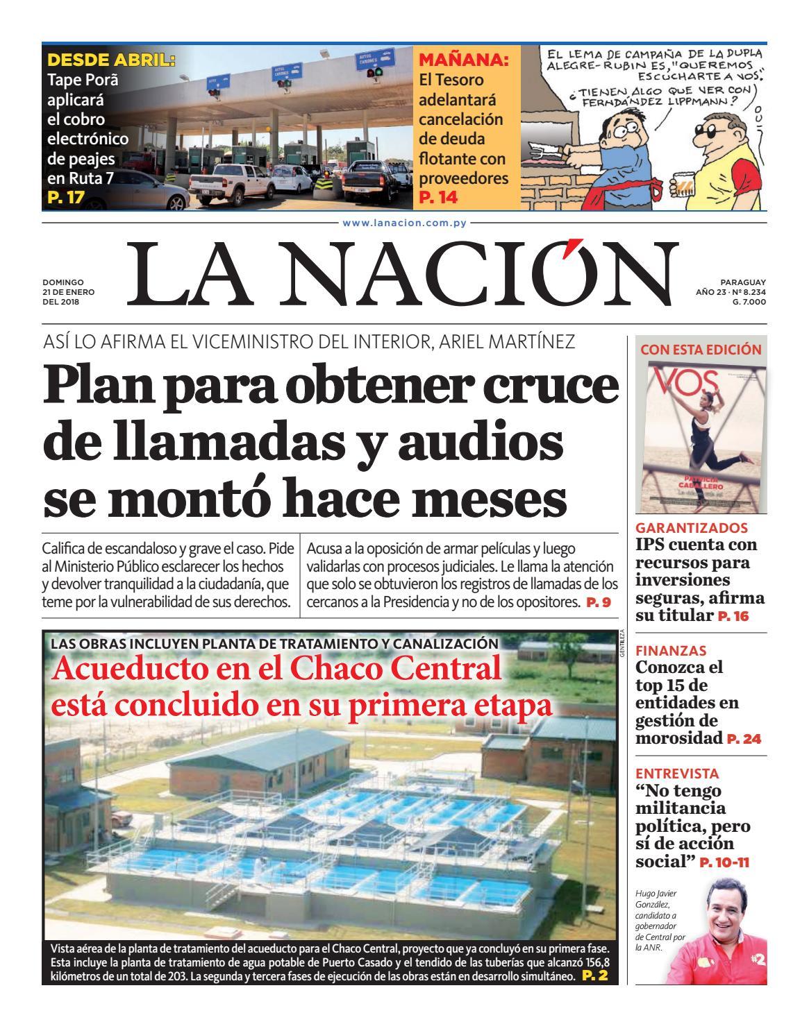 DIARIO LA NACIÓN - EDICIÓN 8.234 by La Nación - issuu