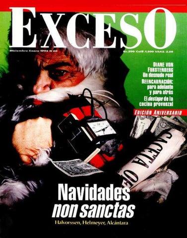 Revista Exceso edicion nº 60 diciembre enero 1994 by Revista Exceso ... e6bc1b251ff7