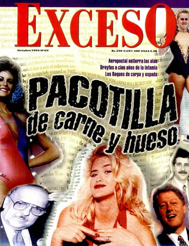 c2a49821f6 Revista Exceso edicion nº 69 octubre 1994 by Revista Exceso - 1988 a ...