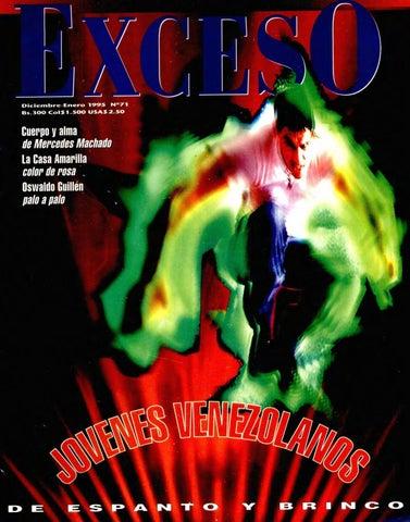 a6dfab3c6605 Revista Exceso edicion nº 71 diciembre enero 1995 by Revista Exceso ...