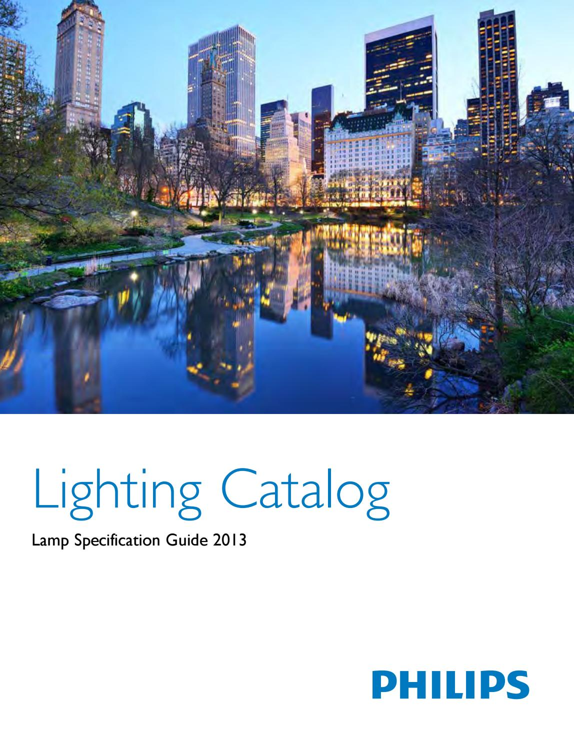 Phillips lamp specification catalog by LED WORLD - issuu