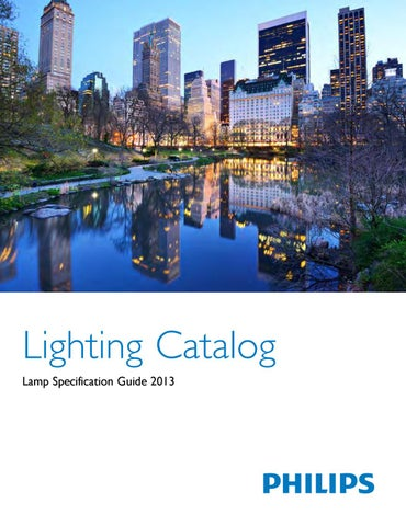 Phillips lamp specification catalog by LED WORLD issuu