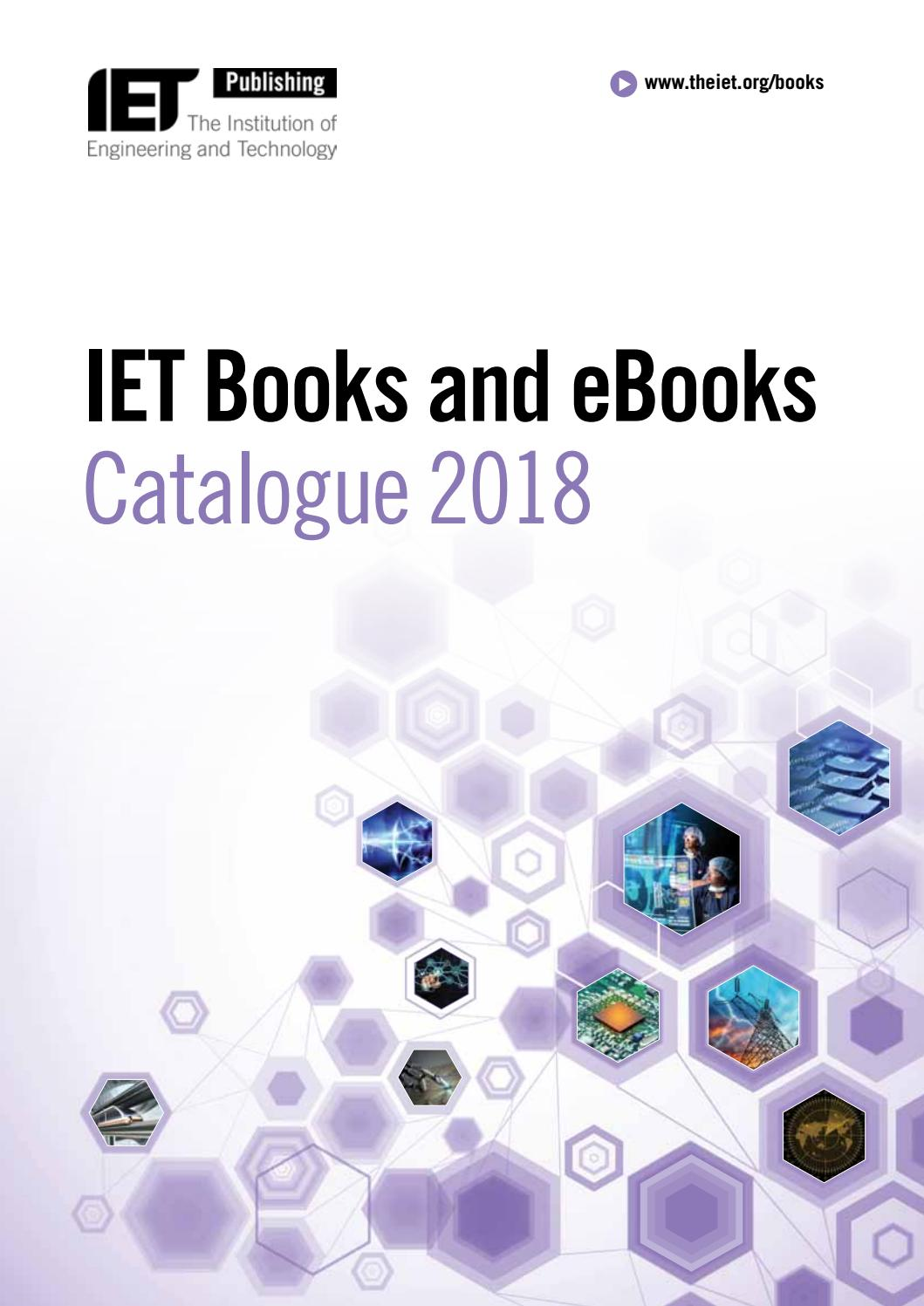 Iet Catalogue2018 By Scientific Books Information Issuu Wiring Regulations 17th Edition Book 3
