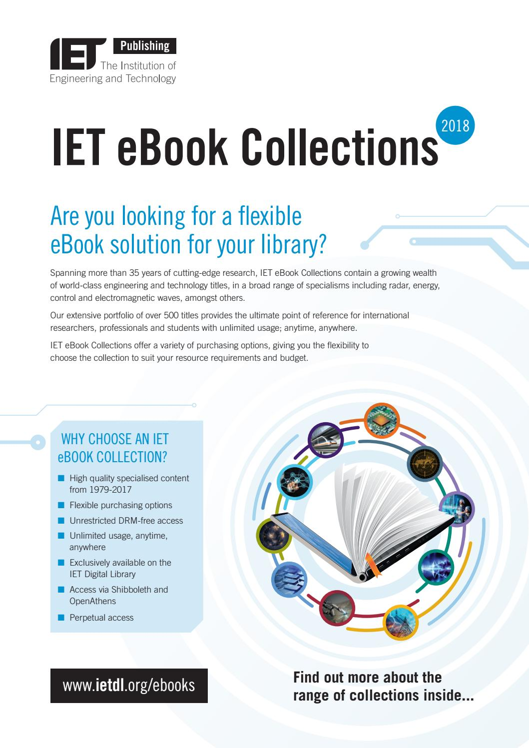 Iet ebooks2018 by SCIENTIFIC BOOKS INFORMATION - issuu