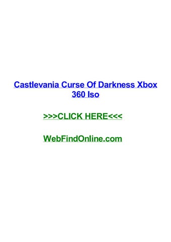 Castlevania curse of darkness xbox 360 iso by johnygck - issuu