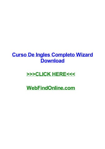 Curso de ingles completo wizard download by bethjwjps issuu.