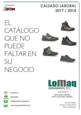 e71f470623b Catalogo calzado laboral by LOMAQ HERRAMIENTA - issuu