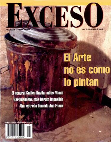 Revista Exceso edición nº 103 noviembre 1997 by Revista Exceso ...