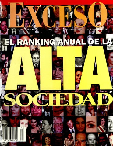 low priced b4889 59ddd Revista exceso Edición nº 104 diciembre enero 1998 by Revista Exceso ...