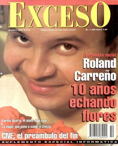 Revista Exceso edición nº 113 octubre 1998 by Revista Exceso - 1988 ... 0387a3c19a3