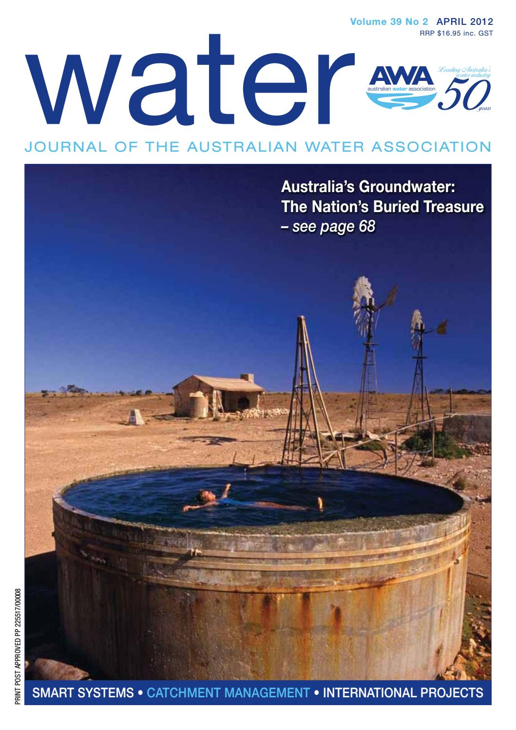 Water Journal April 2012 By Australianwater Issuu