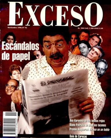 7b1de4794cdb Revista Exceso noviembre 1996 nº 92 by Revista Exceso - 1988 a 2007 ...