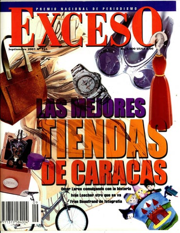 Revista Exceso edición nº 145 septiembre 2001 by Revista Exceso ... 86d71d4a5bc