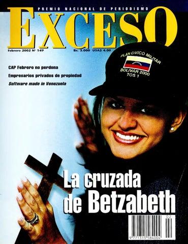 Revista Exceso edición nº 149 febrero 2002 by Revista Exceso - 1988 ... 13e63289040