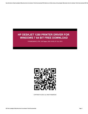 free download pdf printer for windows 7 64 bit