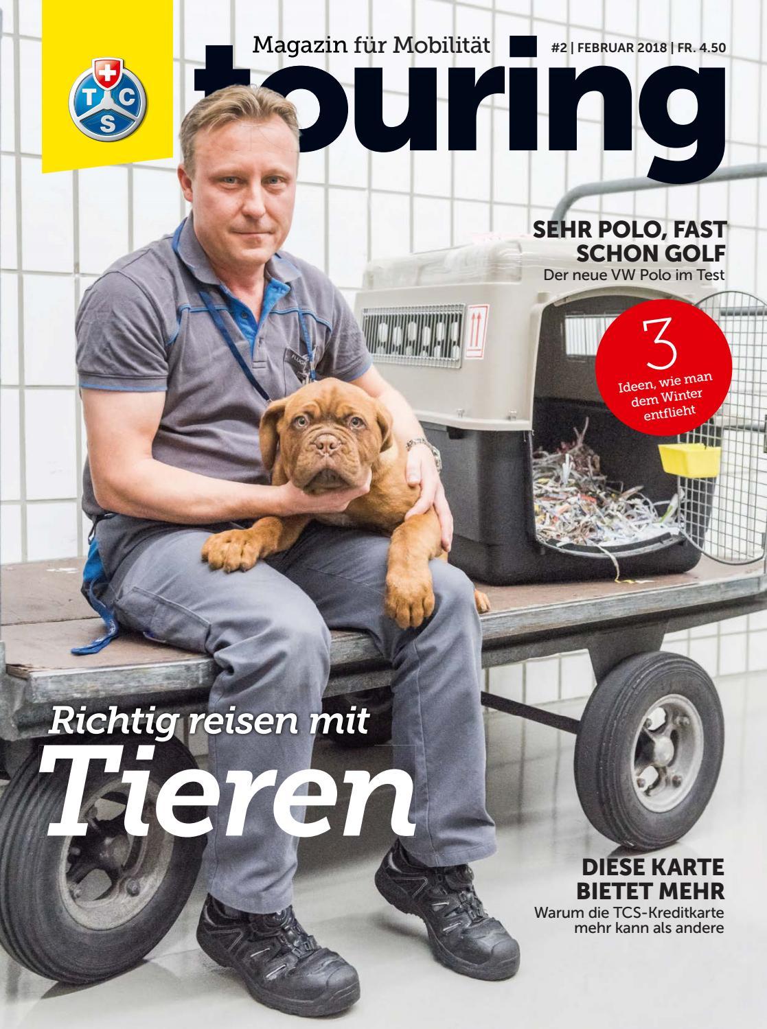 Touring 2 2018 Deutsch By Touring Club Schweiz Suisse Svizzera