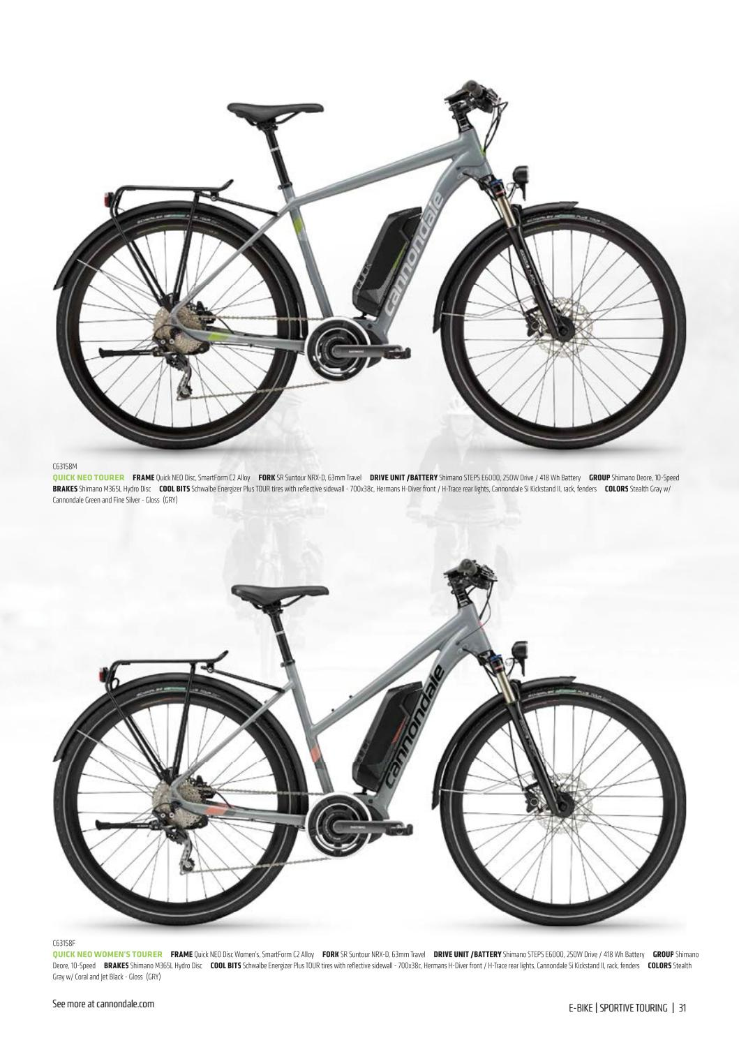 2018 Can Catalog E-Series EU by Cannondale Europe - issuu