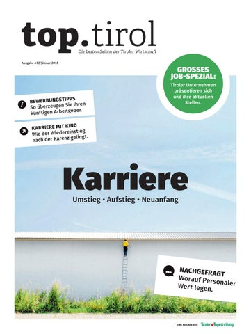 top.tirol Karriere Jänner 2018 by TARGET GROUP Publishing GmbH - issuu