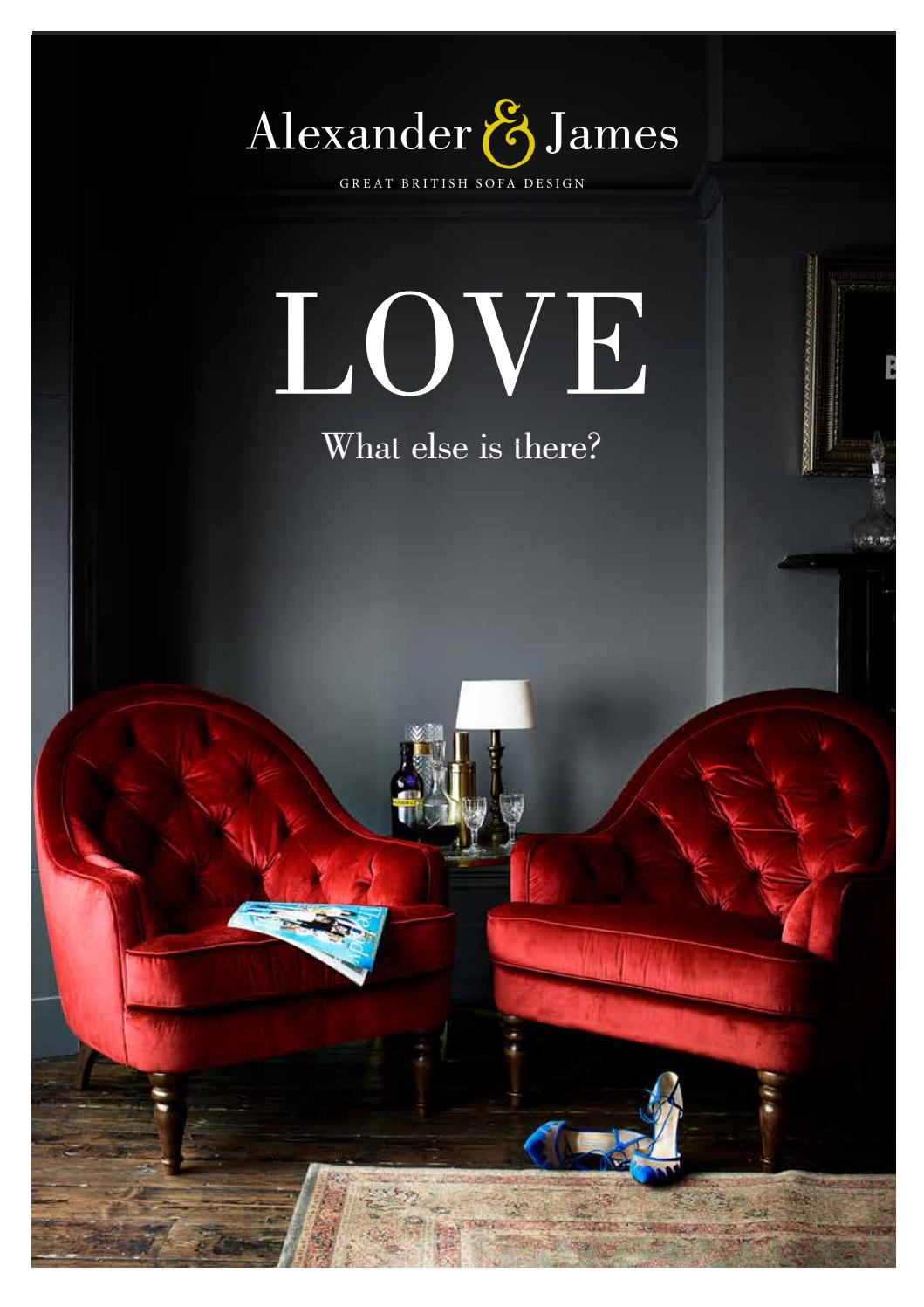Tremendous Aj Love Look Book By Alexander And James Sofas Issuu Caraccident5 Cool Chair Designs And Ideas Caraccident5Info