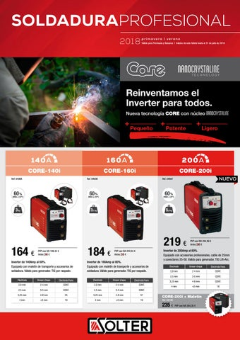 Solter 1 Inverter CORE-160i Unica Rojo