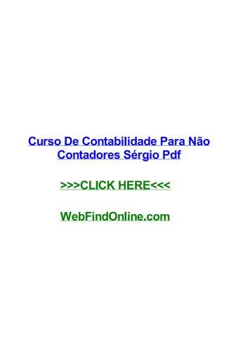 Livro Contabilidade Para Nao Contadores Pdf