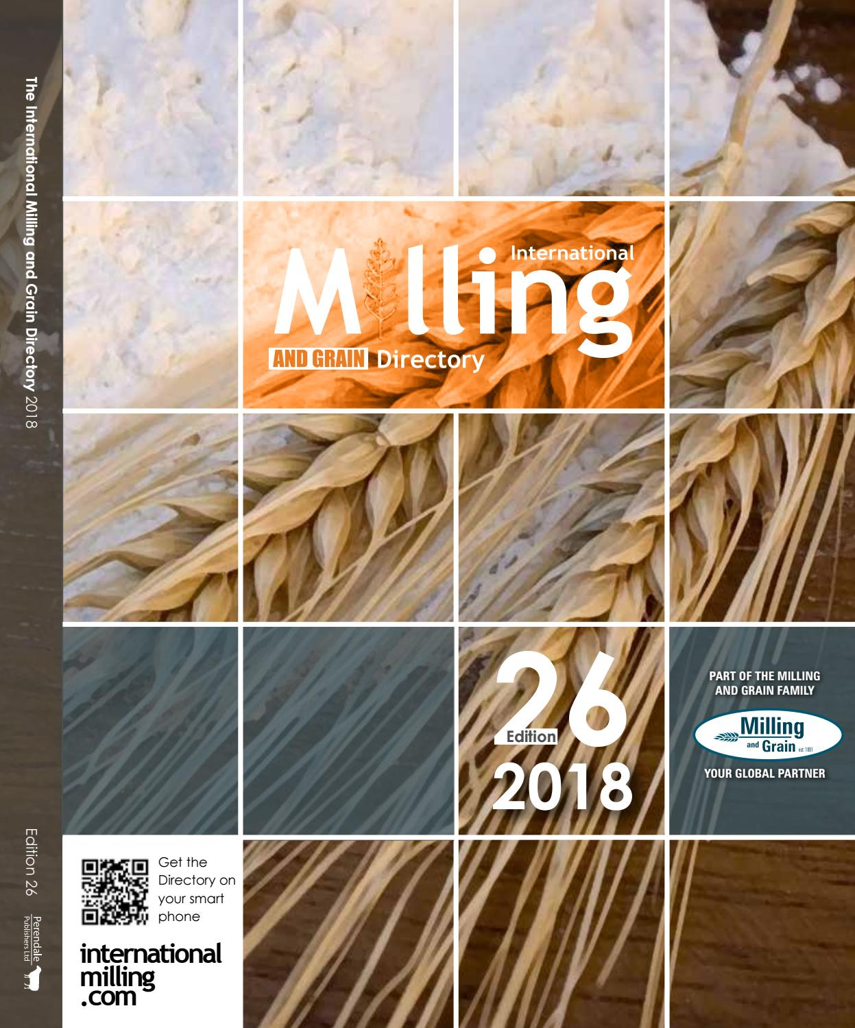 International Milling Directory 26 by Perendale Publishers