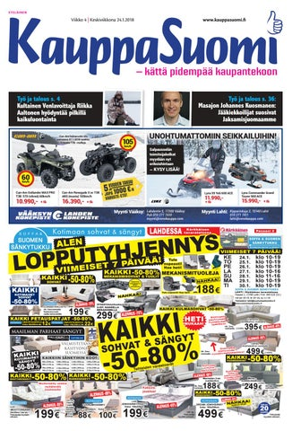 KauppaSuomi 4 2018 (E) by KauppaSuomi - issuu 10364a4f00
