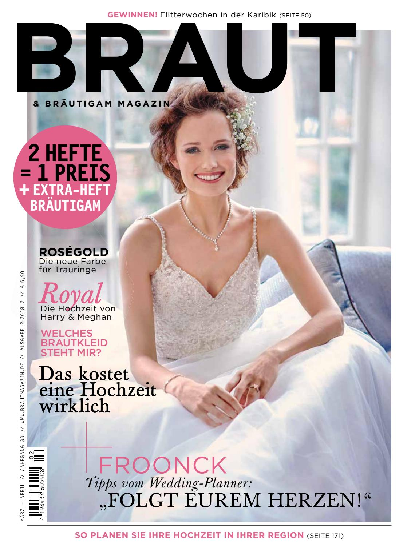 Sneak Preview Braut Brautigam 02 2018 By Bruidmedia Issuu