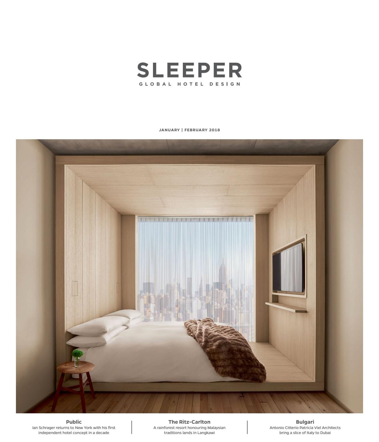 Sleeper January February 2018 Issue 76 By Mondiale Media