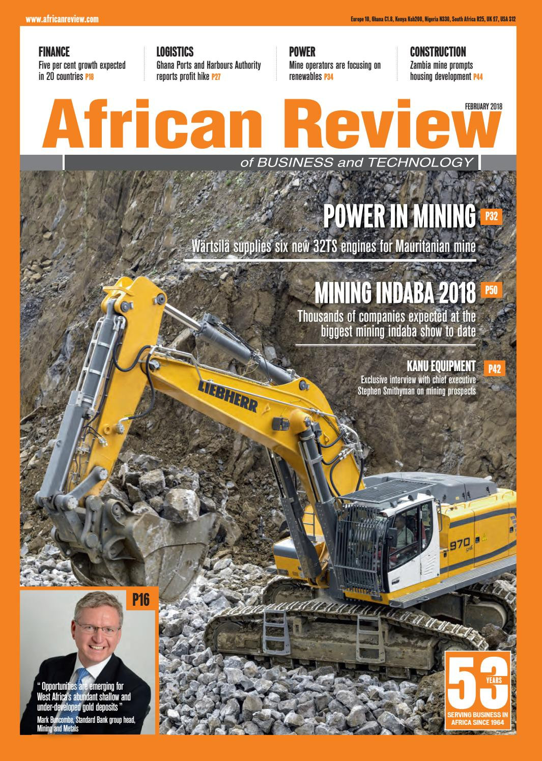 African Review February 2018 by Alain Charles Publishing - issuu
