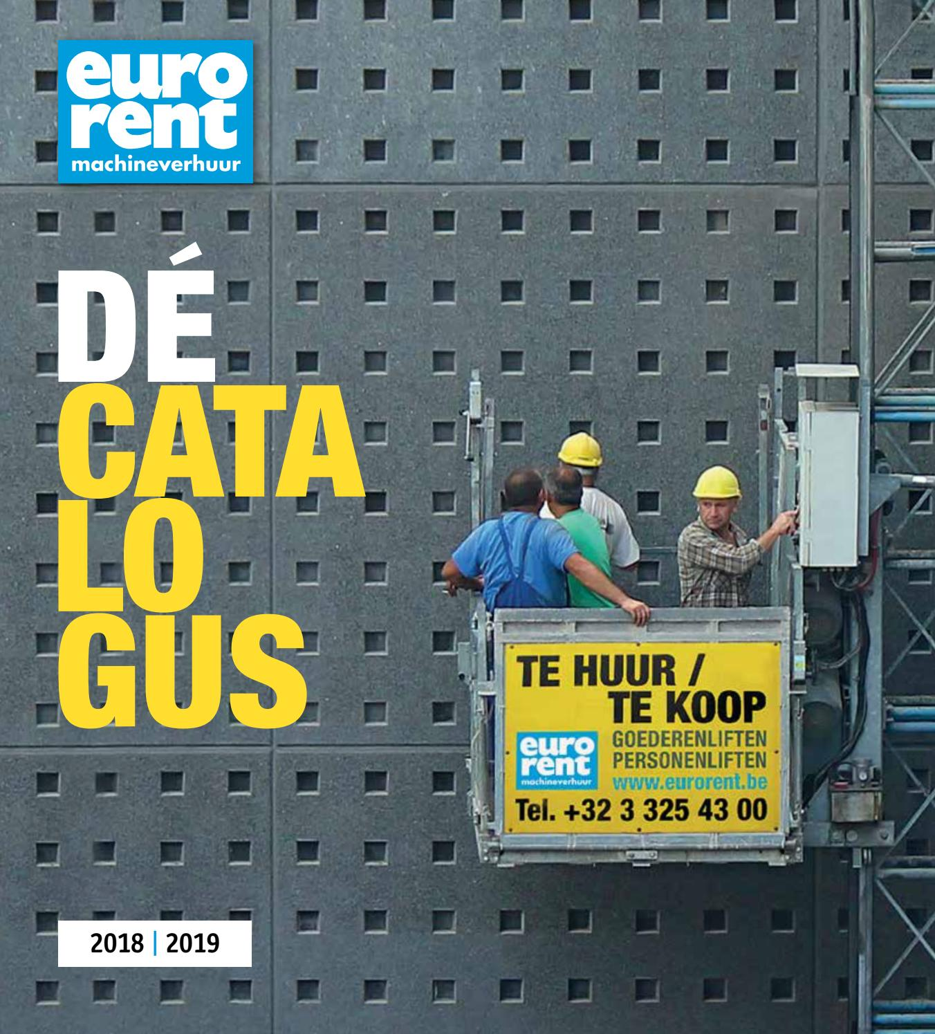 Euro Rent Huurcatalogus 2018 2019 By Euro Rent Issuu