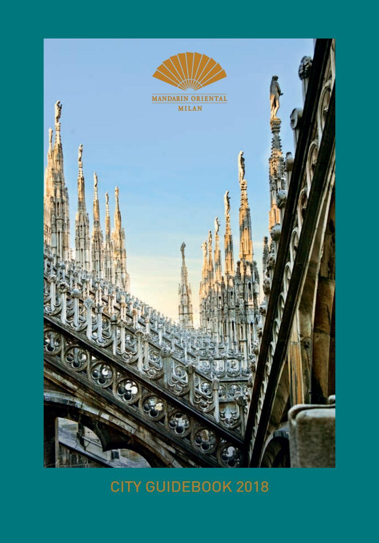 Guida Mandarin Oriental Milan 2018 By Gruppo Editoriale Srl