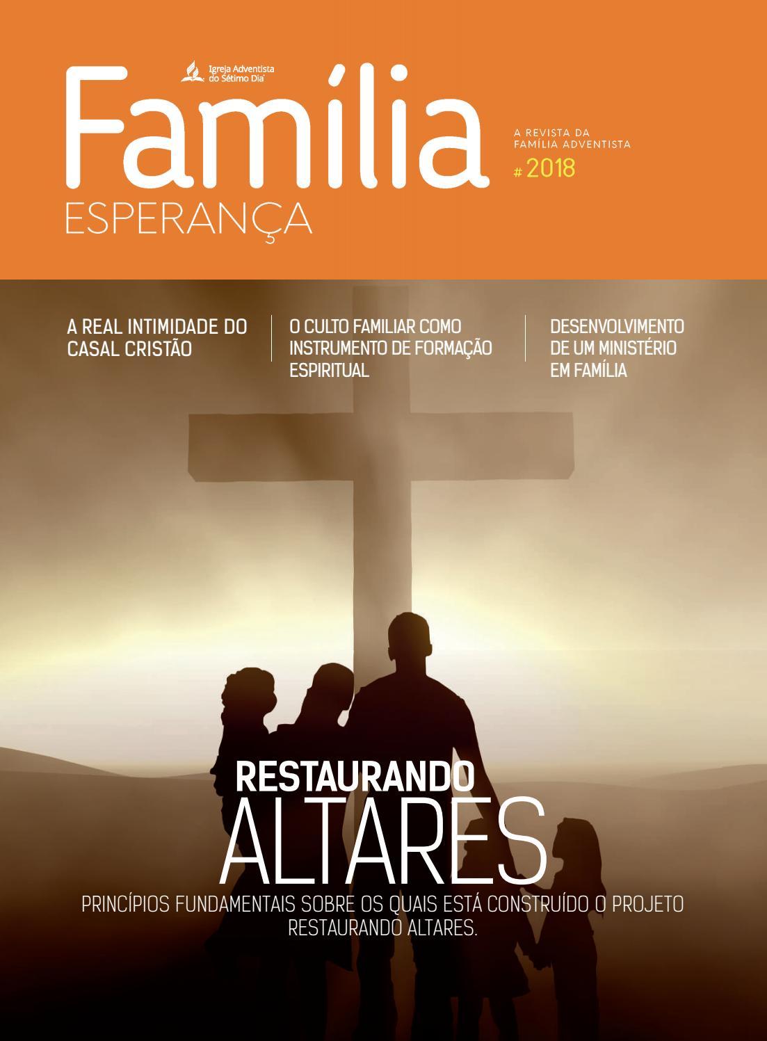 Revista Familia Esperanca 2018 By Igreja Adventista Do Setimo Dia
