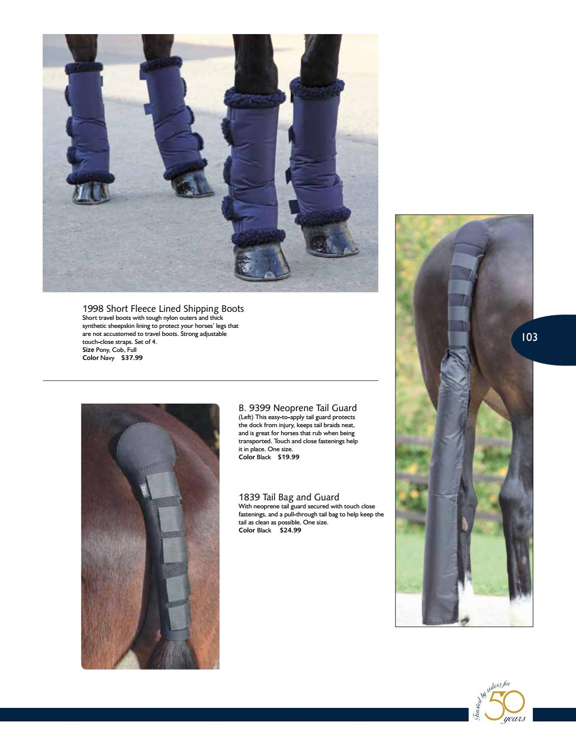 protects the dock from injury Braids secured Tail Bag for Horse